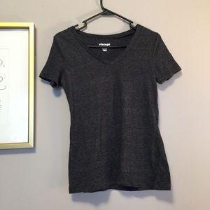 Gray short sleeve